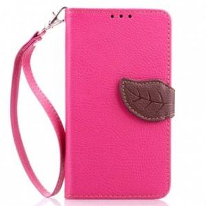 Чехол портмоне подставка на силиконовой основе на дизайнерской магнитной защелке для HTC One (M7) Dual SIM