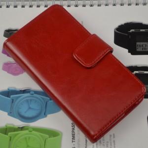 Винтажный чехол портмоне подставка на силиконовой основе на магнитной защелке для HTC One (M7) Dual SIM