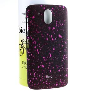 Пластиковый непрозрачный матовый чехол с голографическим принтом Звезды для HTC Desire 526