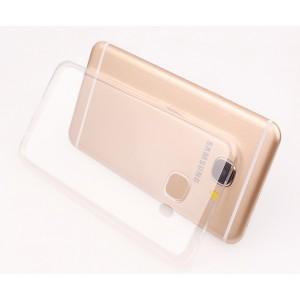 Силиконовый глянцевый транспарентный чехол для Samsung Galaxy J5 Prime
