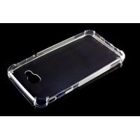 Силиконовый матовый транспарентный чехол с усиленными углами для Samsung Galaxy J5 Prime
