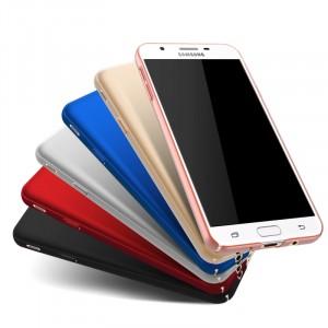Пластиковый непрозрачный матовый чехол с улучшенной защитой элементов корпуса для Samsung Galaxy J5 Prime
