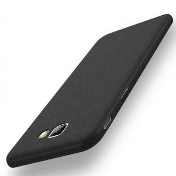Пластиковый непрозрачный матовый чехол с повышенной шероховатостью для Samsung Galaxy J5 Prime