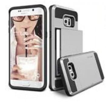 Двухкомпонентный силиконовый матовый непрозрачный чехол с поликарбонатными бампером и крышкой для Samsung Galaxy Note 5