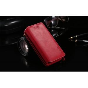 Винтажный кожаный чехол портмоне подставка для Samsung Galaxy Note 5