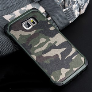 Противоударный двухкомпонентный силиконовый матовый непрозрачный чехол с поликарбонатными вставками для Samsung Galaxy Note 5  Зеленый