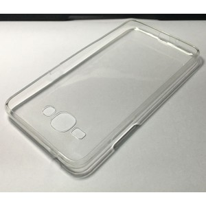 Силиконовый матовый транспарентный чехол для Samsung Galaxy J2 Prime
