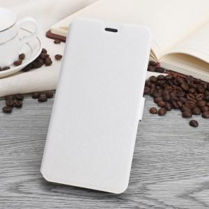 Чехол портмоне подставка текстура Золото на силиконовой основе на магнитной защелке для Asus ZenFone 3 Max  Белый