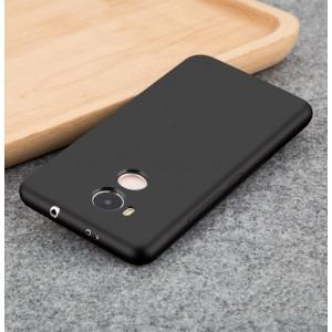 Силиконовый матовый непрозрачный чехол для Xiaomi RedMi 4 Pro