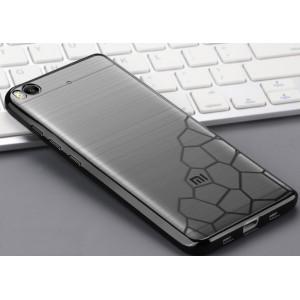 Силиконовый матовый полупрозрачный чехол с текстурным покрытием Узоры для Xiaomi Mi5S