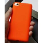 Силиконовый матовый непрозрачный чехол с нескользящим софт-тач покрытием для Xiaomi Mi5S