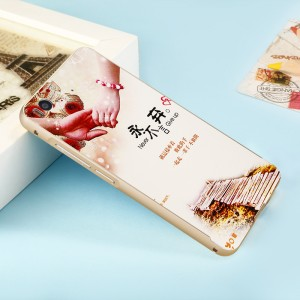 Двухкомпонентный чехол c металлическим бампером с поликарбонатной накладкой и УФ-принтом для Xiaomi Mi5S