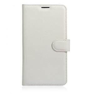 Чехол портмоне подставка на силиконовой основе на магнитной защелке для Xiaomi Mi5S Белый