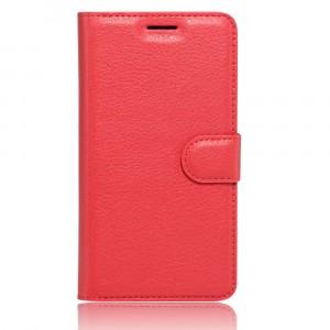 Чехол портмоне подставка на силиконовой основе на магнитной защелке для Xiaomi Mi5S Красный
