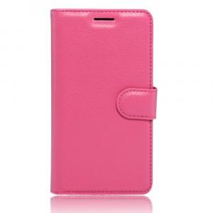 Чехол портмоне подставка на силиконовой основе на магнитной защелке для Xiaomi Mi5S Пурпурный