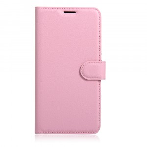 Чехол портмоне подставка на силиконовой основе на магнитной защелке для Xiaomi Mi5S Розовый
