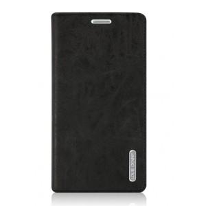 Винтажный чехол горизонтальная книжка подставка на пластиковой основе с отсеком для карт на присосках для Xiaomi Mi5S Черный