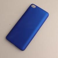 Пластиковый непрозрачный матовый чехол для Xiaomi Mi5S Синий