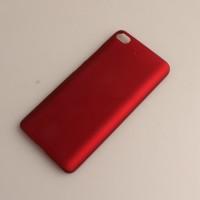 Пластиковый непрозрачный матовый чехол для Xiaomi Mi5S Красный