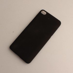 Пластиковый непрозрачный матовый чехол для Xiaomi Mi5S Черный