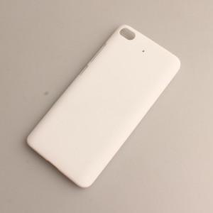 Пластиковый непрозрачный матовый чехол для Xiaomi Mi5S Белый