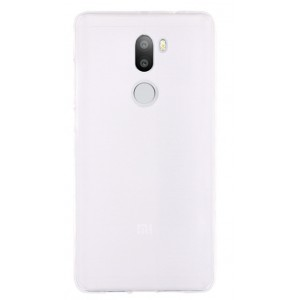 Силиконовый матовый полупрозрачный чехол для Xiaomi Mi5S Plus  Белый