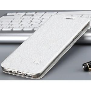 Чехол горизонтальная книжка подставка текстура Соты на силиконовой основе для Xiaomi Mi5S Plus
