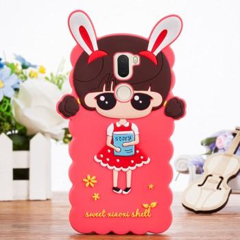Силиконовый матовый непрозрачный дизайнерский фигурный чехол для Xiaomi Mi5S Plus