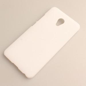 Пластиковый непрозрачный матовый чехол для Meizu M3E