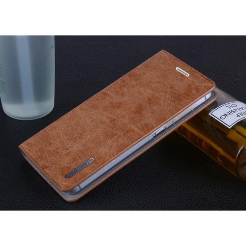 Винтажный чехол горизонтальная книжка подставка на пластиковой основе с отсеком для карт на присосках для Meizu M3E