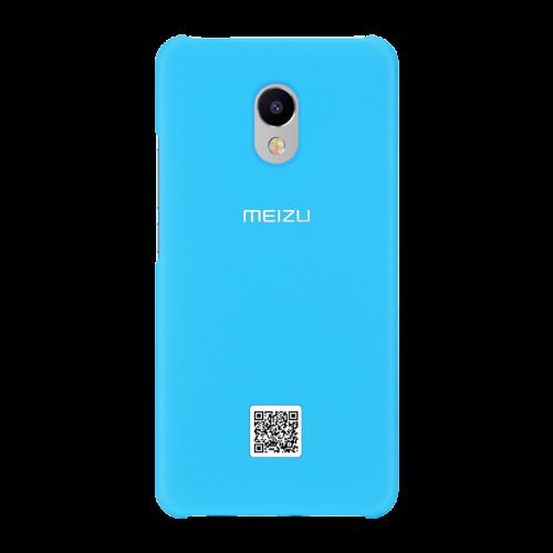 Оригинальный пластиковый непрозрачный матовый чехол для Meizu M3E