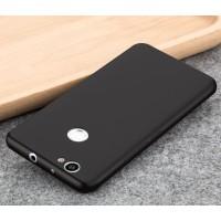 Силиконовый матовый непрозрачный чехол для Huawei Nova  Черный