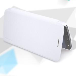 Чехол горизонтальная книжка на пластиковой нескользящей премиум основе для Lenovo Moto Z