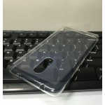 Силиконовый матовый транспарентный чехол для Lenovo K6 Note