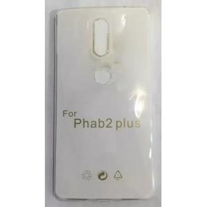 Силиконовый матовый транспарентный чехол для Lenovo Phab 2 Plus