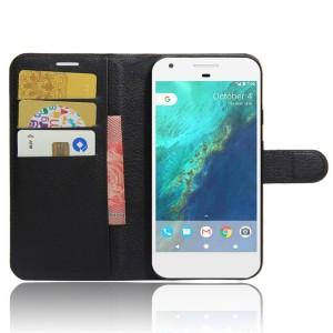 Чехол портмоне подставка на силиконовой основе на магнитной защелке для Google Pixel