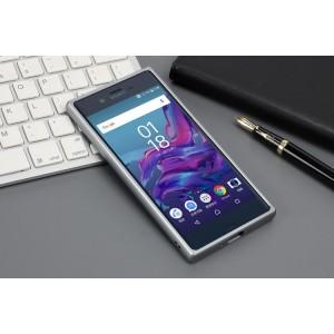Металлический прямоугольный бампер для Sony Xperia XZ/XZs