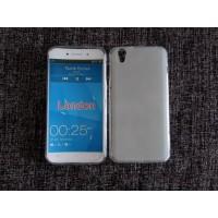 Силиконовый матовый полупрозрачный чехол для Umi London  Белый
