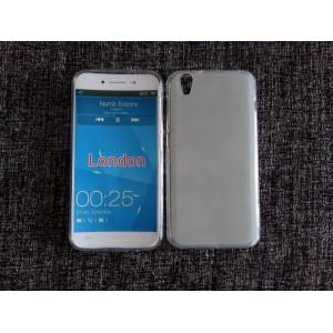 Силиконовый матовый полупрозрачный чехол для Umi London