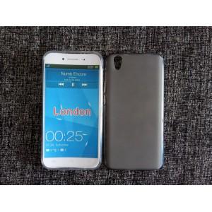 Силиконовый матовый полупрозрачный чехол для Umi London  Серый