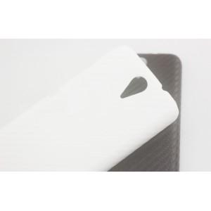 Пластиковый непрозрачный матовый чехол для HTC Desire 620
