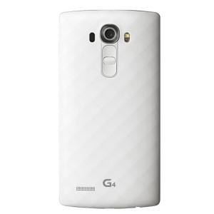 Оригинальная пластиковая встраиваемая матовая задняя крышка для LG G4 Белый