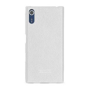 Кожаный чехол накладка (премиум нат. кожа) для Sony Xperia X