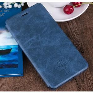 Винтажный чехол горизонтальная книжка подставка на силиконовой основе с отсеком для карт для Asus ZenFone 3 Laser