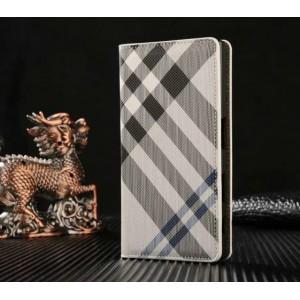Чехол горизонтальная книжка текстура Линии на пластиковой основе с отсеком для карт для Sony Xperia X Compact