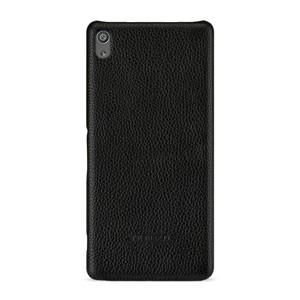 Кожаный чехол накладка (премиум нат. кожа) для Sony Xperia XA Ultra