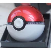 Портативное зарядное устройство 12000 mAh с 2 USB-разъемами (1А и 2А) дизайн Pokemon GO Красный