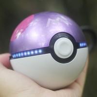 Портативное зарядное устройство 12000 mAh с 2 USB-разъемами (1А и 2А) дизайн Pokemon GO Фиолетовый
