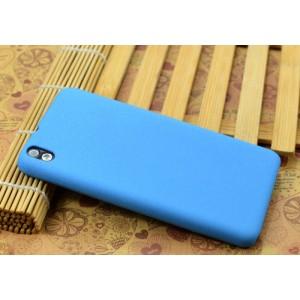 Пластиковый непрозрачный матовый нескользящий чехол для HTC Desire 816