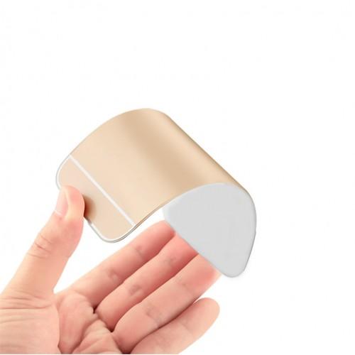 Двухкомпонентный чехол c металлическим бампером с поликарбонатной накладкой и отверстием для логотипа для Xiaomi RedMi 4